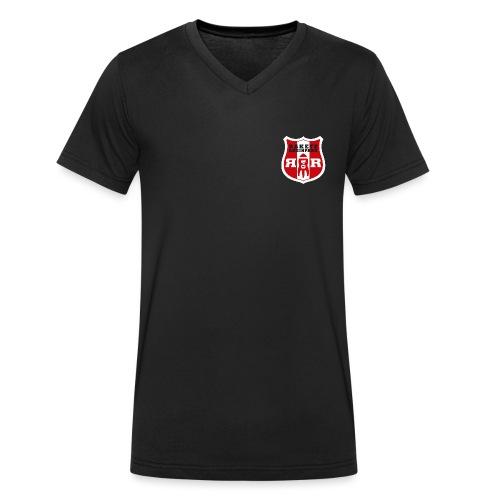 Wappen Transparent gif - Männer Bio-T-Shirt mit V-Ausschnitt von Stanley & Stella