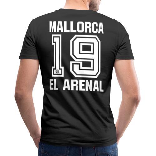 MALLORCA SHIRT 2019 - Malle Shirts - EL ARENAL 19 - Mannen bio T-shirt met V-hals van Stanley & Stella