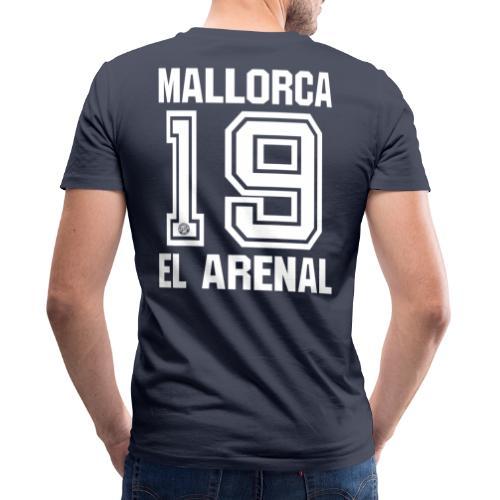 MALLORCA OVERHEMD 2019 - Malle Shirts - EL ARENAL 19 - Mannen bio T-shirt met V-hals van Stanley & Stella
