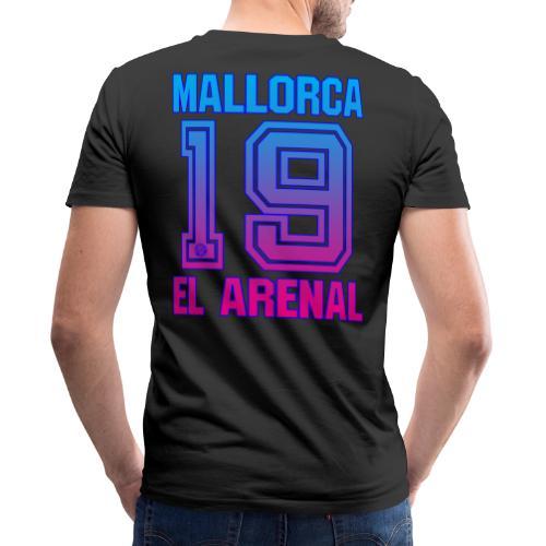 MALLORCA OVERHEMD 2019 - Malle Shirts - Heren Dames - Mannen bio T-shirt met V-hals van Stanley & Stella