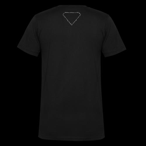Hard Times white - Männer Bio-T-Shirt mit V-Ausschnitt von Stanley & Stella