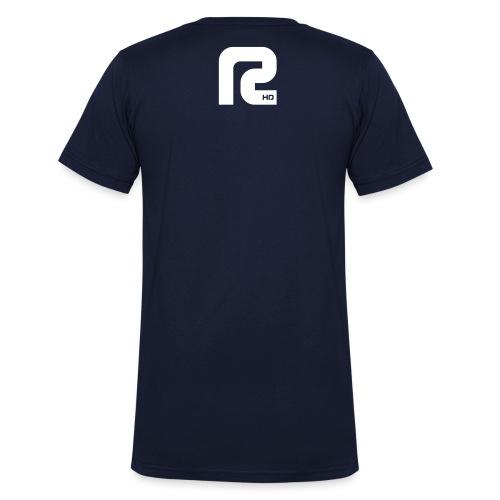 R-BLACK - Männer Bio-T-Shirt mit V-Ausschnitt von Stanley & Stella