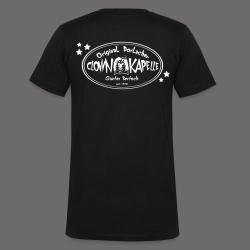 clown back 1 - Männer Bio-T-Shirt mit V-Ausschnitt von Stanley & Stella