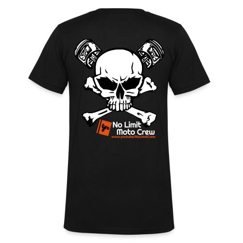NoLimit Crew Logo NEU2 - Männer Bio-T-Shirt mit V-Ausschnitt von Stanley & Stella