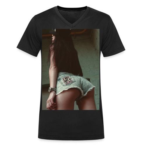 HP jpg - Männer Bio-T-Shirt mit V-Ausschnitt von Stanley & Stella