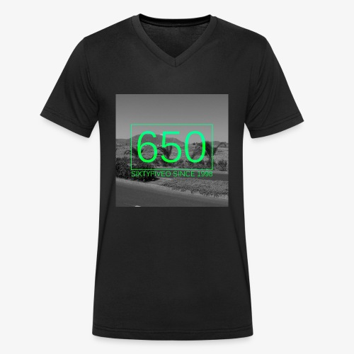 650 Logo - Männer Bio-T-Shirt mit V-Ausschnitt von Stanley & Stella