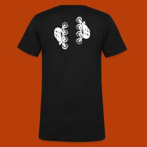 Inline speed skate - Männer Bio-T-Shirt mit V-Ausschnitt von Stanley & Stella