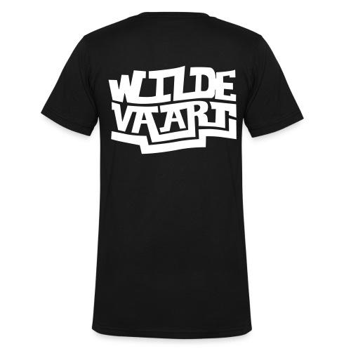 FN12 Wilde Vaart 2 - Mannen bio T-shirt met V-hals van Stanley & Stella