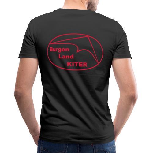 KITER LOGO BLK - Männer Bio-T-Shirt mit V-Ausschnitt von Stanley & Stella