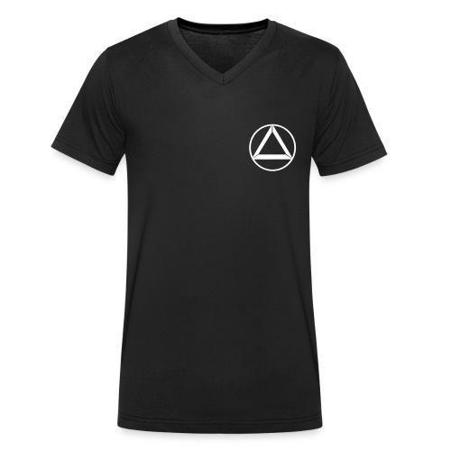 circle_light - Männer Bio-T-Shirt mit V-Ausschnitt von Stanley & Stella