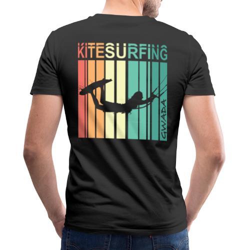 Kitesurfing GWADA - T-shirt bio col V Stanley & Stella Homme