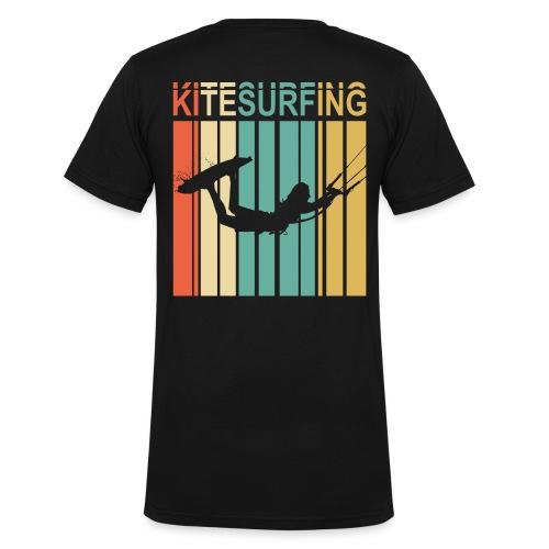 Kitesurfing - T-shirt bio col V Stanley & Stella Homme