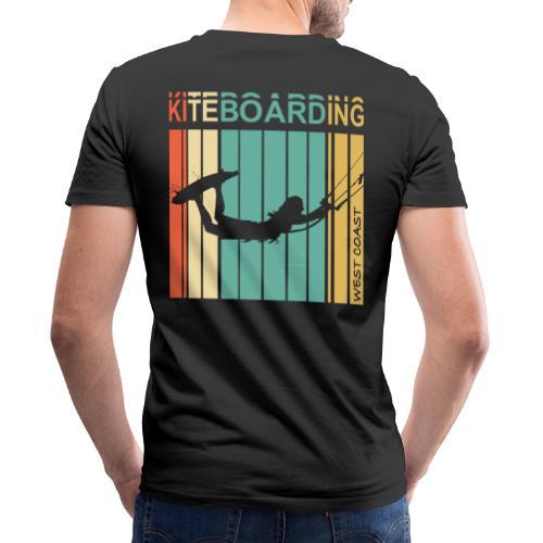Kiteboarding WEST COAST - T-shirt bio col V Stanley & Stella Homme