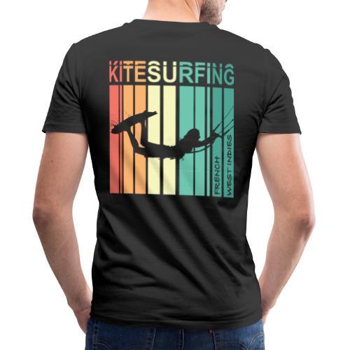 Kitesurfing FWI - T-shirt bio col V Stanley & Stella Homme