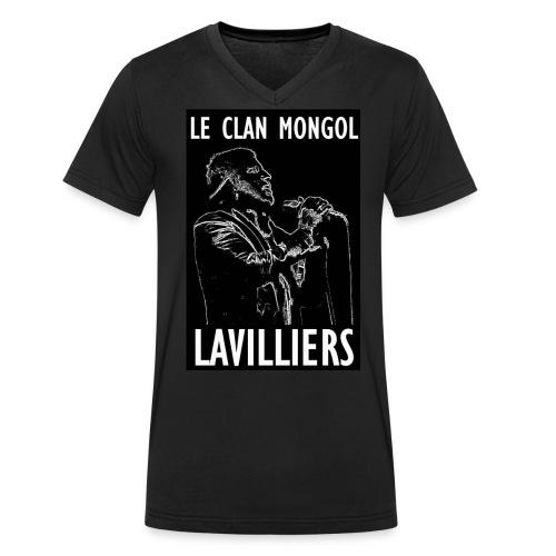 T Sirt LAVILLIERS blanc new jpg - T-shirt bio col V Stanley & Stella Homme