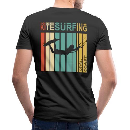Kitesurfing Opal Coast II - T-shirt bio col V Stanley & Stella Homme