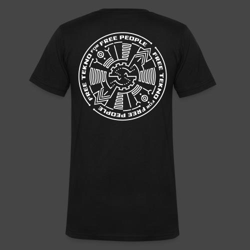 Tekno gratuit pour les personnes libres - T-shirt bio col V Stanley & Stella Homme