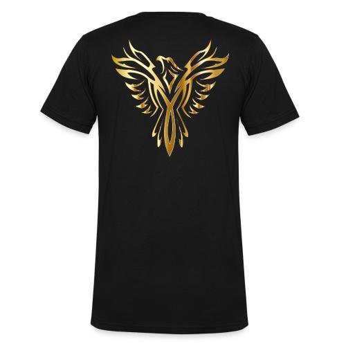 phoenix gold ultimate - Men's Organic V-Neck T-Shirt by Stanley & Stella