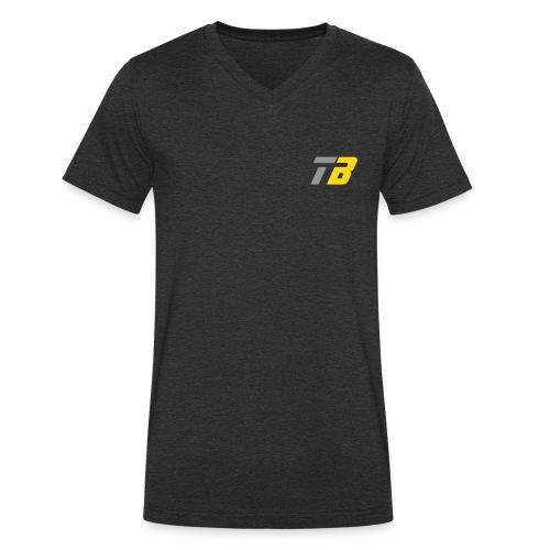 Logo Team Benninghofen - Männer Bio-T-Shirt mit V-Ausschnitt von Stanley & Stella