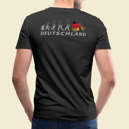 Radball | Evolution Deutschland - Männer Bio-T-Shirt mit V-Ausschnitt von Stanley & Stella