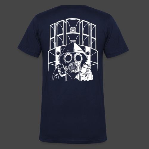 tekno 23 masque à gaz - T-shirt bio col V Stanley & Stella Homme