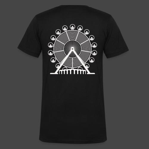 tekno, 23, roue, roue - T-shirt bio col V Stanley & Stella Homme