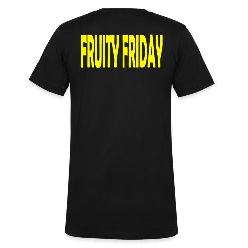 Fruity Friday - Men's Organic V-Neck T-Shirt by Stanley & Stella