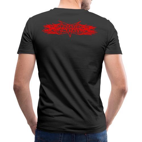 patattenlogovlammen - Mannen bio T-shirt met V-hals van Stanley & Stella
