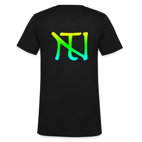 Green Fade Limited Edition - Ekologisk T-shirt med V-ringning herr från Stanley & Stella