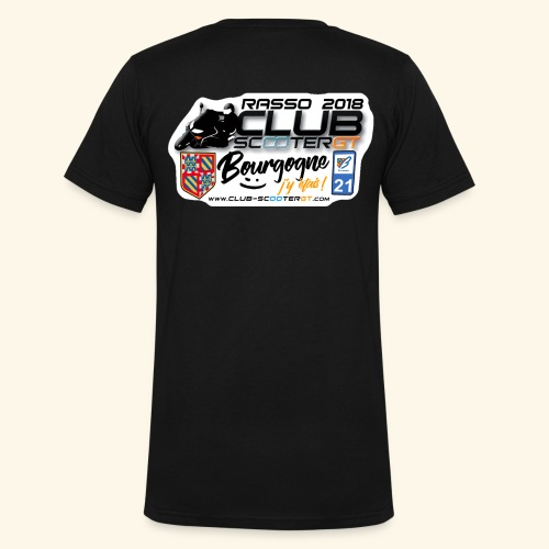 logoCSGT stickerrass2018 - T-shirt bio col V Stanley & Stella Homme