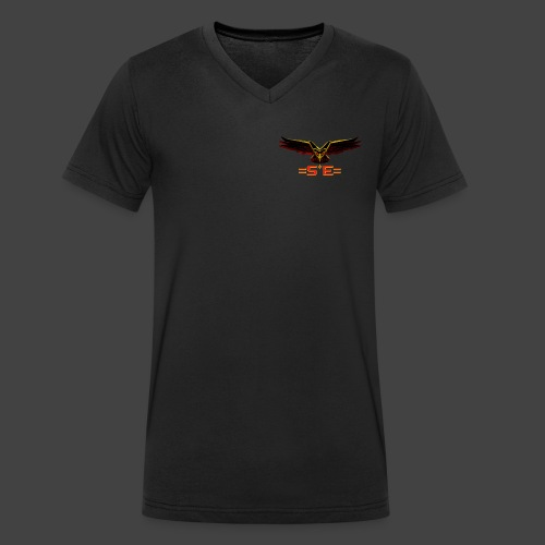 Solo Elite Eagle png - Men's Organic V-Neck T-Shirt by Stanley & Stella
