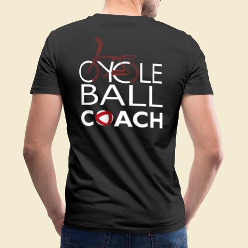 Radball | Cycle Ball Coach - Männer Bio-T-Shirt mit V-Ausschnitt von Stanley & Stella