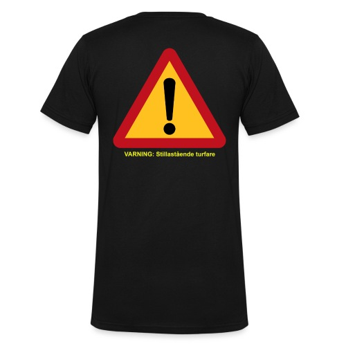 VarningTurfare - Ekologisk T-shirt med V-ringning herr från Stanley & Stella