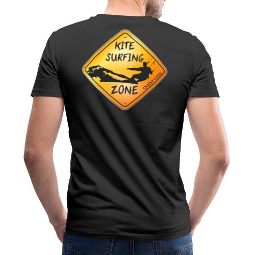 KITESURFING ZONE OUEST CÔTE - T-shirt bio col V Stanley & Stella Homme