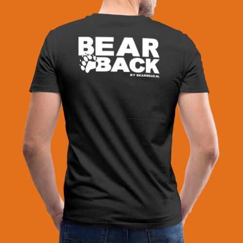 bearback new - Men's Organic V-Neck T-Shirt by Stanley & Stella