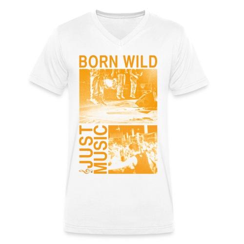live tonight loud 1 - Männer Bio-T-Shirt mit V-Ausschnitt von Stanley & Stella