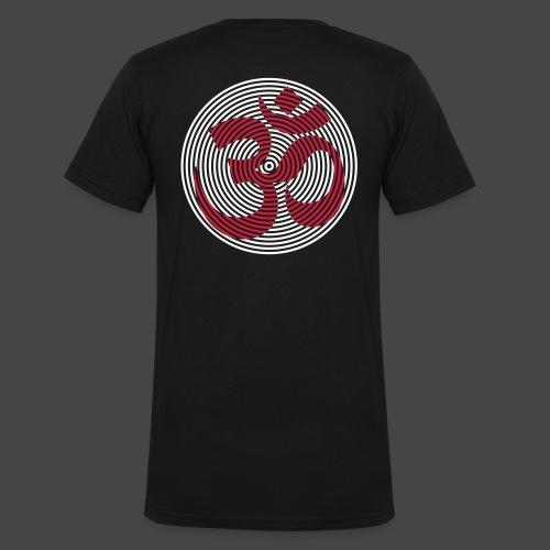 om circle all color - T-shirt ecologica da uomo con scollo a V di Stanley & Stella