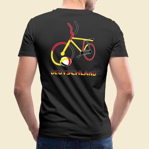 Radball | Deutschland Rad - Männer Bio-T-Shirt mit V-Ausschnitt von Stanley & Stella