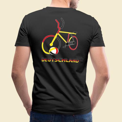 Radball   Deutschland Rad - Männer Bio-T-Shirt mit V-Ausschnitt von Stanley & Stella