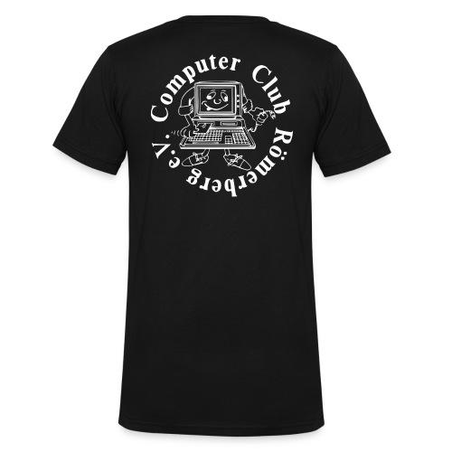 ccr-ev-logo-4000x-ws - Männer Bio-T-Shirt mit V-Ausschnitt von Stanley & Stella