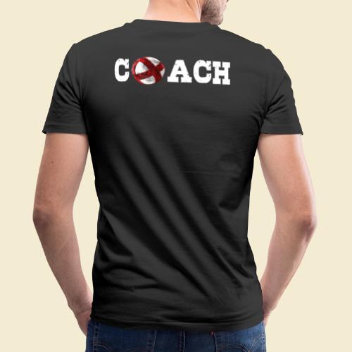 Radball   Coach - Männer Bio-T-Shirt mit V-Ausschnitt von Stanley & Stella