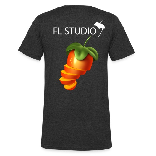 Sliced Sweaty Fruit - Men's Organic V-Neck T-Shirt by Stanley & Stella