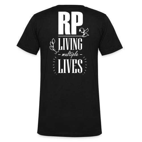 Role play - Living multiple lives - Økologisk Stanley & Stella T-shirt med V-udskæring til herrer