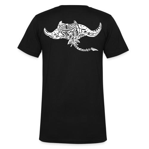 The giant manta - Men's Organic V-Neck T-Shirt by Stanley & Stella