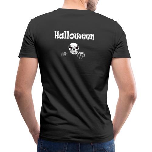 Halloween Dead Head Design - Männer Bio-T-Shirt mit V-Ausschnitt von Stanley & Stella