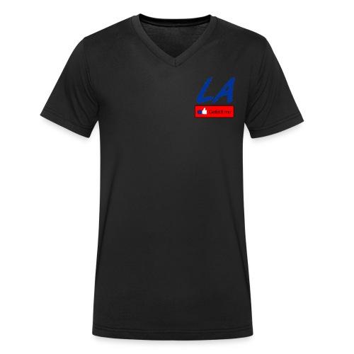 LOGO MB neu mit de - Männer Bio-T-Shirt mit V-Ausschnitt von Stanley & Stella