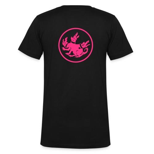 cerberus logo rund - Männer Bio-T-Shirt mit V-Ausschnitt von Stanley & Stella