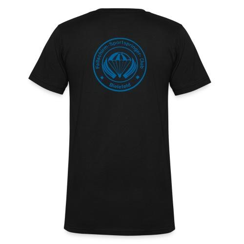 FSC Logo v3 Fotor png - Männer Bio-T-Shirt mit V-Ausschnitt von Stanley & Stella