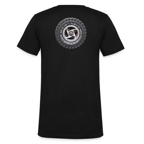 toughwheels - Mannen bio T-shirt met V-hals van Stanley & Stella