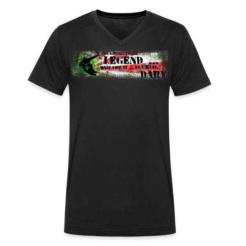 Guerillos United its going to be legend... wait - Männer Bio-T-Shirt mit V-Ausschnitt von Stanley & Stella